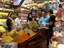 Mercado de la especia - Estambul Imagenes de archivo