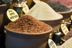 Mercado de la especia - Estambul imagen de archivo libre de regalías