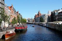 Mercado de la flor de Amsterdam Fotografía de archivo libre de regalías