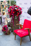 Mercado de la flor de Kiev - la primera flor de la ciudad justa en Kiev, Ucrania 18 de septiembre de 2016 Fotografía de archivo