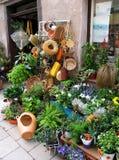 Mercado de la flor de la calle Foto de archivo libre de regalías