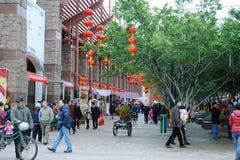 Mercado de la flor del festival de resorte 2012 en Nanhai Fotos de archivo libres de regalías