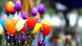 Mercado de la flor en Tailandia foto de archivo