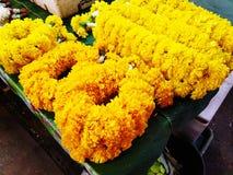 mercado de la flor de Tailandia fotografía de archivo libre de regalías