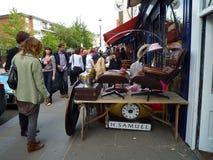 Mercado de la flota de Portobello fotos de archivo