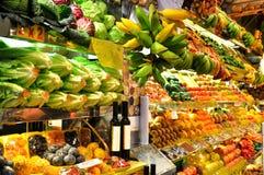 Mercado de la fruta Fotografía de archivo libre de regalías