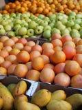 Mercado 2 de la fruta y verdura foto de archivo