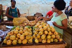Mercado de La Habana Fotos de archivo libres de regalías