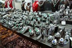Mercado de la joyería en Estambul fotos de archivo
