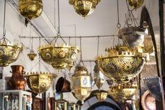 Mercado de la lámpara Foto de archivo libre de regalías