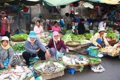 Mercado de la mañana imagen de archivo