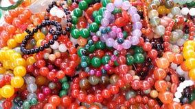 Mercado de la mañana del jade del mitón colorido Foto de archivo