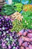 Mercado de la mañana en Luang Prabang Fotografía de archivo libre de regalías