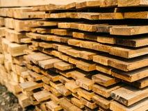 Mercado de la madera de construcción Fotos de archivo