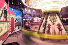 Mercado de la Navidad Fotos de archivo