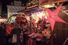 Mercado de la Navidad Imagenes de archivo