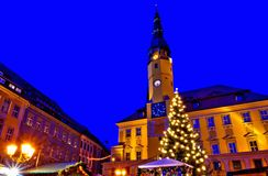 Mercado de la Navidad de Bautzen Fotos de archivo