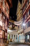 Mercado de la Navidad de Esslingen Imagenes de archivo