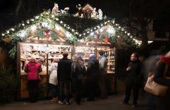 Mercado de la Navidad de Esslingen Foto de archivo libre de regalías