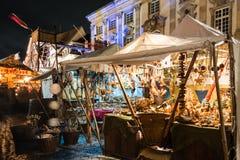 Mercado de la Navidad de Esslingen Imágenes de archivo libres de regalías