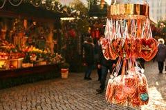 Mercado de la Navidad Dresden, Alemania Celebración de la Navidad en Europa Imagen de archivo libre de regalías