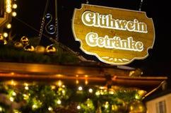 Mercado de la Navidad en Alemania Imagen de archivo libre de regalías