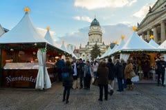 Mercado de la Navidad en Berlín Fotos de archivo libres de regalías