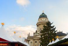 Mercado de la Navidad en Berlín Fotografía de archivo