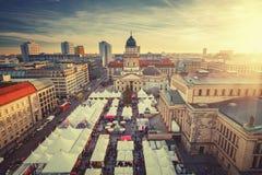 Mercado de la Navidad en Berlín Fotos de archivo