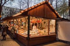 Mercado de la Navidad en Berlín Imagenes de archivo