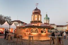 Mercado de la Navidad en Berlín Imagen de archivo libre de regalías