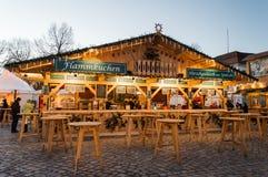 Mercado de la Navidad en Berlín Foto de archivo libre de regalías