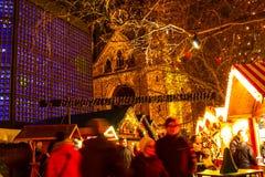 Mercado de la Navidad en Berlín Foto de archivo