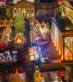 Mercado de la Navidad en Berlín Imagen de archivo