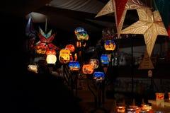Mercado de la Navidad en Colonia Foto de archivo