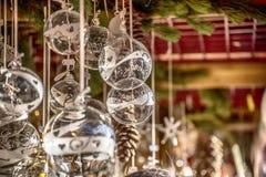 Mercado de la Navidad en Italia Fotos de archivo libres de regalías