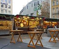 Mercado de la Navidad en Munich, Alemania Imagen de archivo libre de regalías