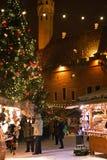 Mercado de la Navidad en Tallinn Imágenes de archivo libres de regalías