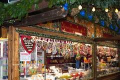 Mercado de la Navidad en Viena, Austria Foto de archivo