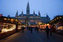 Mercado de la Navidad en Viena, Austria Fotos de archivo