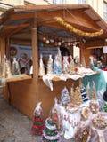 Mercado de la Navidad, Lublin, Polonia Imagen de archivo libre de regalías