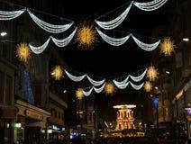 Mercado de la Navidad, nueva calle, Birmingham, Inglaterra 2017 imágenes de archivo libres de regalías