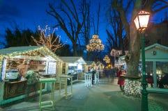 Mercado de la Navidad, Zagreb, Croacia imagen de archivo libre de regalías
