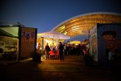 Mercado de la noche Fotografía de archivo