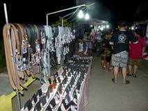 Mercado de la noche Fotos de archivo libres de regalías