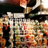 Mercado de la noche Imagen de archivo