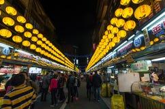 Mercado de la noche de Keelung Imagenes de archivo