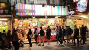Mercado de la noche de Kenting HD almacen de video