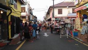 Mercado de la noche de la calle de Jonker Imágenes de archivo libres de regalías