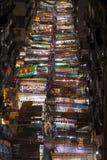 Mercado de la noche de la calle del templo foto de archivo libre de regalías